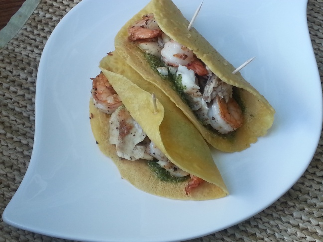 fish & shrimp taco 2