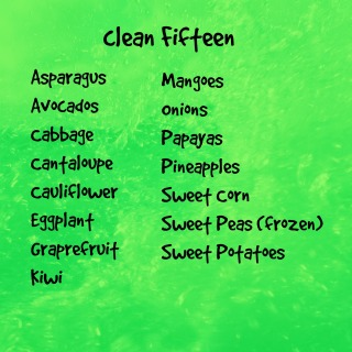 Clean Fifteen